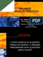 Clase #6 - Balance Hidroelectrolitico (Dra. Lozano)