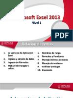 Diapositivas Excel Nivel 1