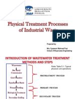 Chapter 3 - Physical Treatment Processes of Industrial Waste-1