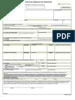 Formulario Solicitud Derecho de Obtentor Forma 3 1119