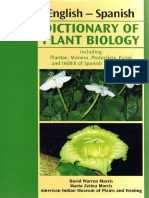 Dictionary of Plant Biology en-sp