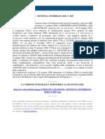 Fisco e Diritto - Corte Di Cassazione n 3827 2010