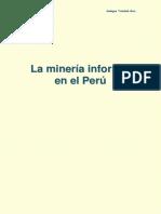 La Minería Informal en El Perú (Ensayo)