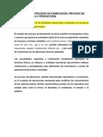 Conceptos de Procesos de Fabricacion Curso Rt