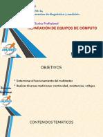 Instrumentos de Diagnóstico y Medición.