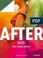After 3. Come Mondi Lontani - Anna Todd