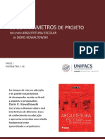 32 parametros arquitetura escolar   Doris.pptx
