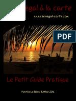 Guide Senegal Carte