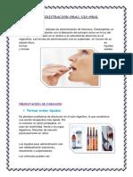ADMINISTRACION de Medicamentos ORAL y Sudblingual (1)