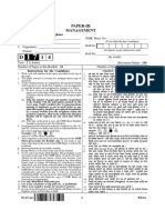 D 17 14 Paper 3=III (Management) Inst Cbse Net Dec 2014