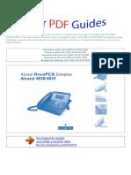 Manual Do Usuário ALCATEL LUCENT 4029 P (1)