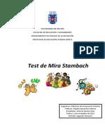Test de Stambach