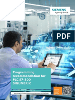 Programming Recommendation for PLC S7 300 En