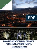 Monitorización Electrónica Fetal Intraparto