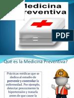 Medicina Preventiva Salud Ocupacional