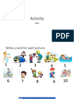 Activity Verbs