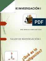 UNIDAD I TIPOS DE INVESTIGACIÓN