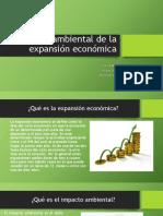 Impacto Ambiental de La Expansión Económica
