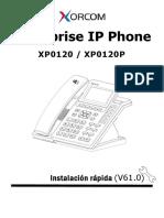 Xorcom Xp0120 Instalacion Rapida