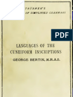 Abridged Grammars of the Languages of the Cuneiform Inscriptions,