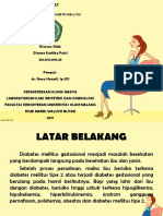 Kehamilan Dengan Diabetes Mellitus