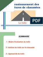 2-Dimensionnement Des Structures de Chaussées - Trafic