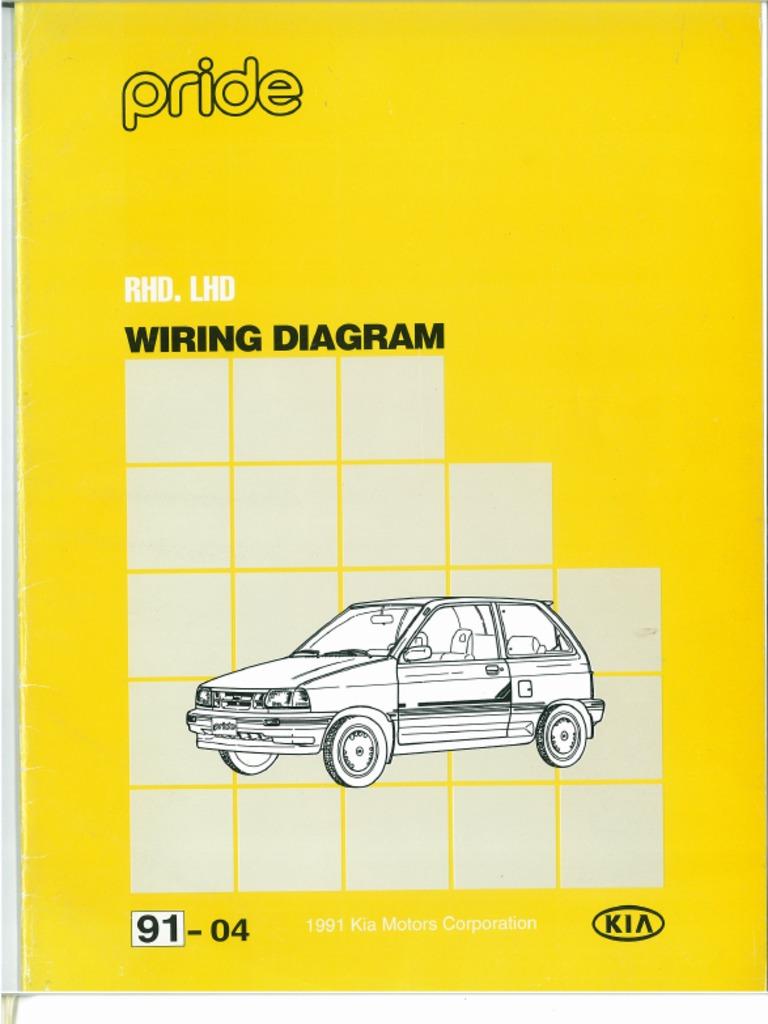 pride wiring harness diagram kia pride wiring diagram pdf  kia pride wiring diagram pdf