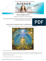 100 Decretos Poderosos Para La Prosperidad y Abundancia
