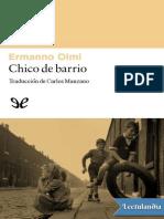 Chico de Barrio - Ermanno Olmi