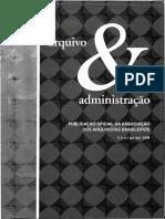 arquivologia & administração