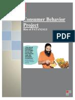 Consumer Behaviour & Branding of Patanjali.docx