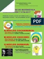 III Olimpiadas de Matemática Afiche