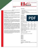 Geotextile sheet Brochure Fospak