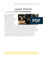 Dieta Para Ganar 10 Kg de Músculos en 12 Semanas-1