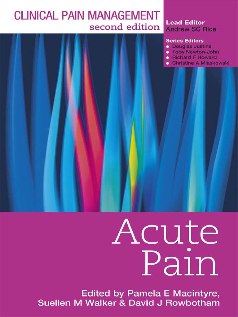 Acute Pain Anesthesiologist League Volans K 440
