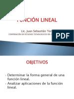 funcinlineal