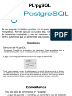 PL PgSQL