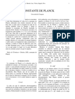 Informe-Constante de Planck