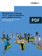 Meeting the challenge of 21st century education and a global economy