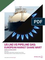 Sr Us Lng Pipeline Gas European Market Share