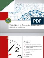 Semantic Web Service Annotation