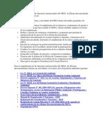 Para El Cumplimiento de Las Funciones Institucionales Del OEFA