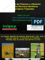 Manejo de Pastoreo Zonas Tropicales