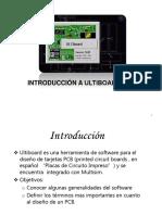 Introducción a Ultiboard's