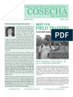 "Sustainable Harvest International ""La Cosecha"" Fall 2010 Newsletter"
