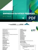 Boletim Das Empresas Estatais Federais