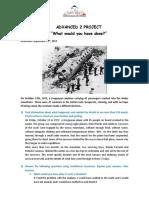 Advanced 2 Project Conditionals Regrets