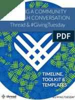 Thread #GivingTuesday Blueprint
