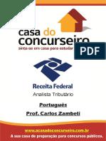 Apostila Rf2015 Analista Portugues Carloszambeli