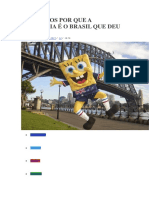 13 Motivos Por Que a Austrália é o Brasil Que Deu Certo